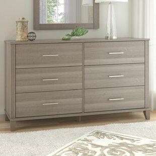 Kirchoff 6 Drawer Double Dresser
