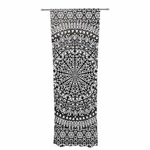 Nika Martinez Mandala Bandana Geometric Sheer Rod Pocket Curtain Panels Set Of 2
