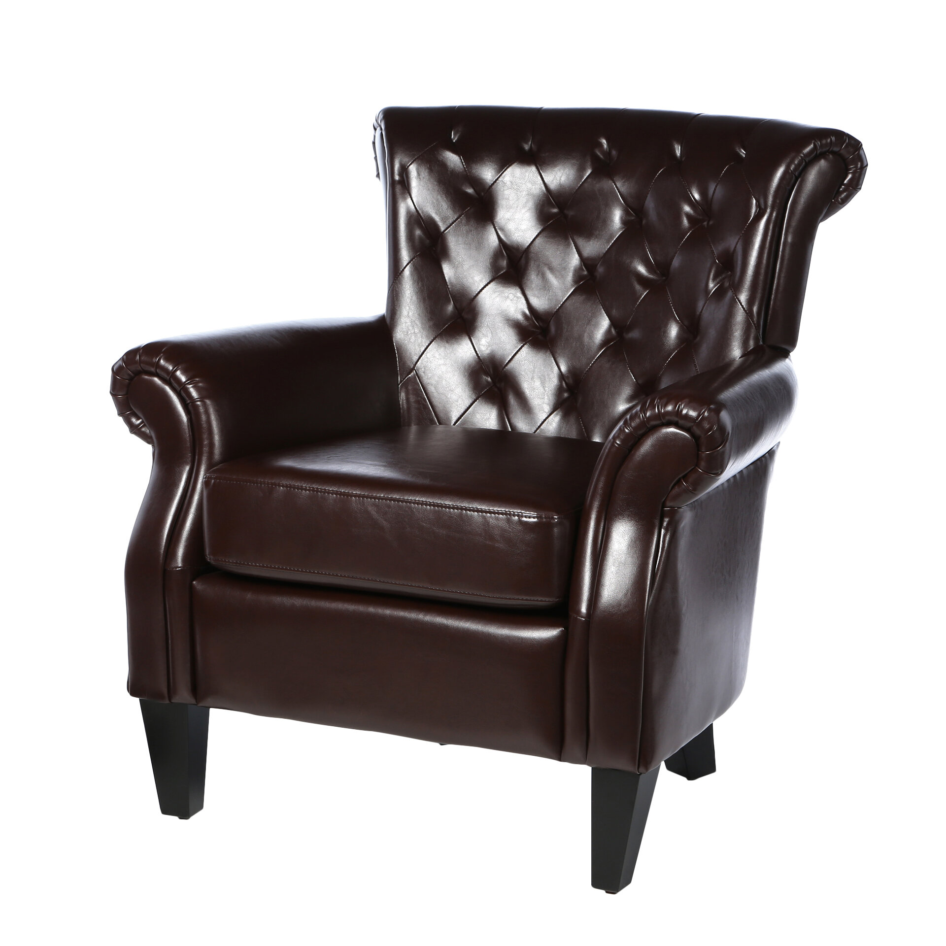 Etonnant Home Loft Concepts Mcclain Tufted Upholstered Club Chair U0026 Reviews | Wayfair