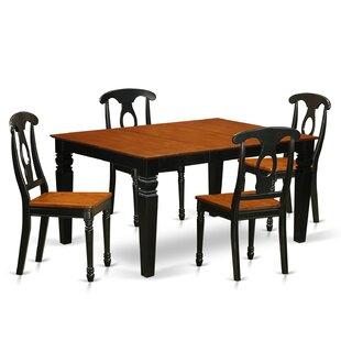 Beldon 5 Piece Dining Set