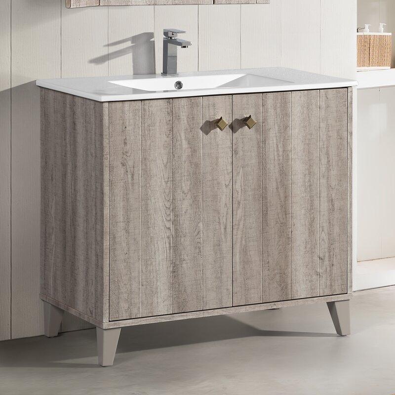 Eclair 36 Single Bathroom Vanity Set