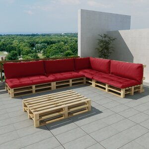 15-tlg. Loungesofa-Set mit Kissen von dCor design