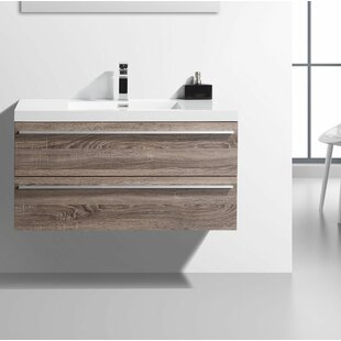Floating U0026 Wall Mounted Bathroom Vanities Youu0027ll Love | Wayfair