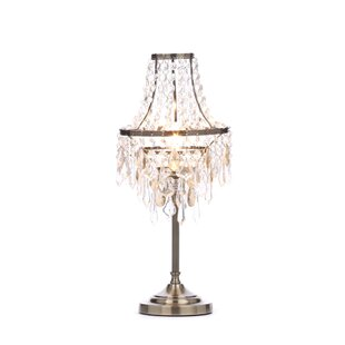 Chandelier table lamp wayfair ryan chandelier 47cm table lamp aloadofball Images