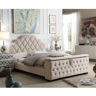 tufted upholstered bed. Norfleet Tufted Upholstered Storage Platform Bed