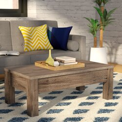 Mistana Mansour Coffee Table With Lift Top Reviews