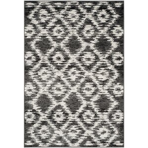 Schacher Charcoal/Ivory Area Rug