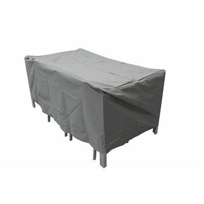 Brayden Studio Raincover Patio Dining Set Covers Size: 29.53 H x 65 W x 37.40 D