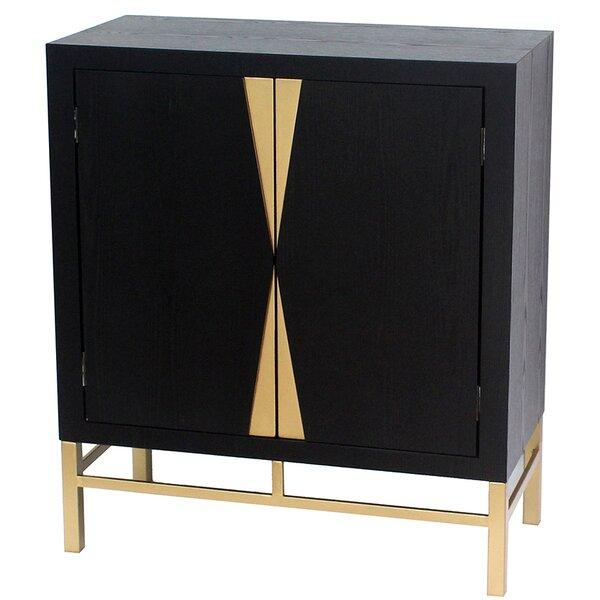 2 Door Storage Accent Cabinet Allmodern