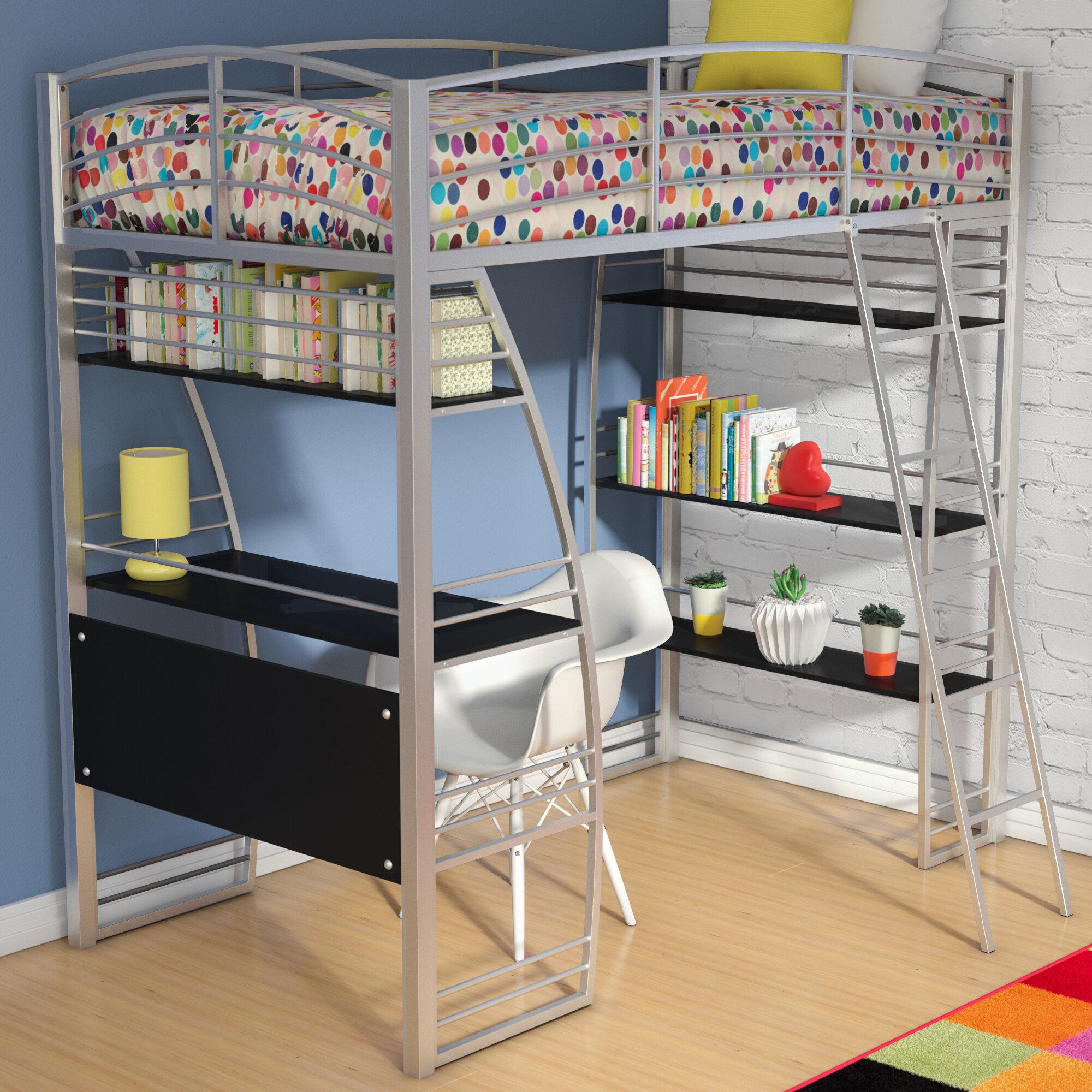 Viv Rae Kronos Twin Loft Bed Reviews Wayfair