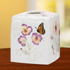 Butterfly Meadow Tissue Box Cover