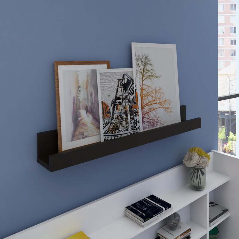 Zipcode Design Picture Frame Floating Wall Ledge Reviews Wayfairca