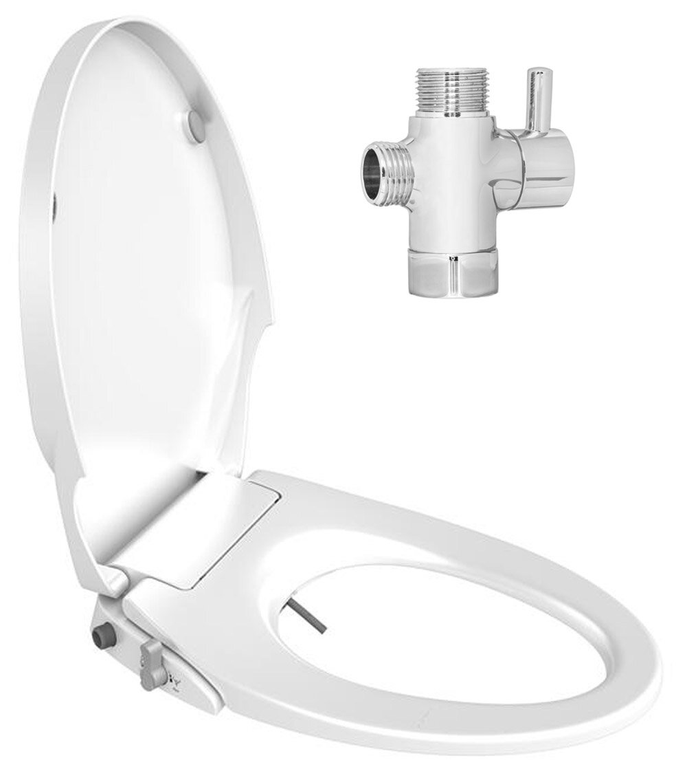 Super Soft Close Dual Nozzles Non Electric Toilet Seat Bidet Pdpeps Interior Chair Design Pdpepsorg