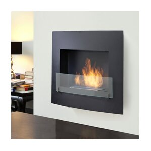 Wynn Wall Mount Ethanol Fireplace by Eco-Feu