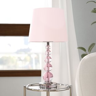 Pink Shade Table Lamps You Ll Love Wayfair