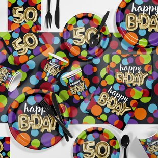 50th Birthday Party Supplies Wayfair