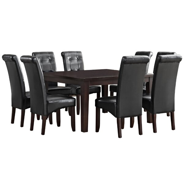 Simpli Home Eastwood 9 Piece Dining Set U0026 Reviews | Wayfair
