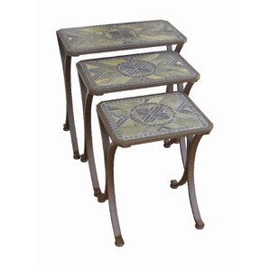 Brookshire 3 Piece Nesting Tables by Paragon Casual
