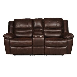 Latitude Run Mae Console Reclining Sofa
