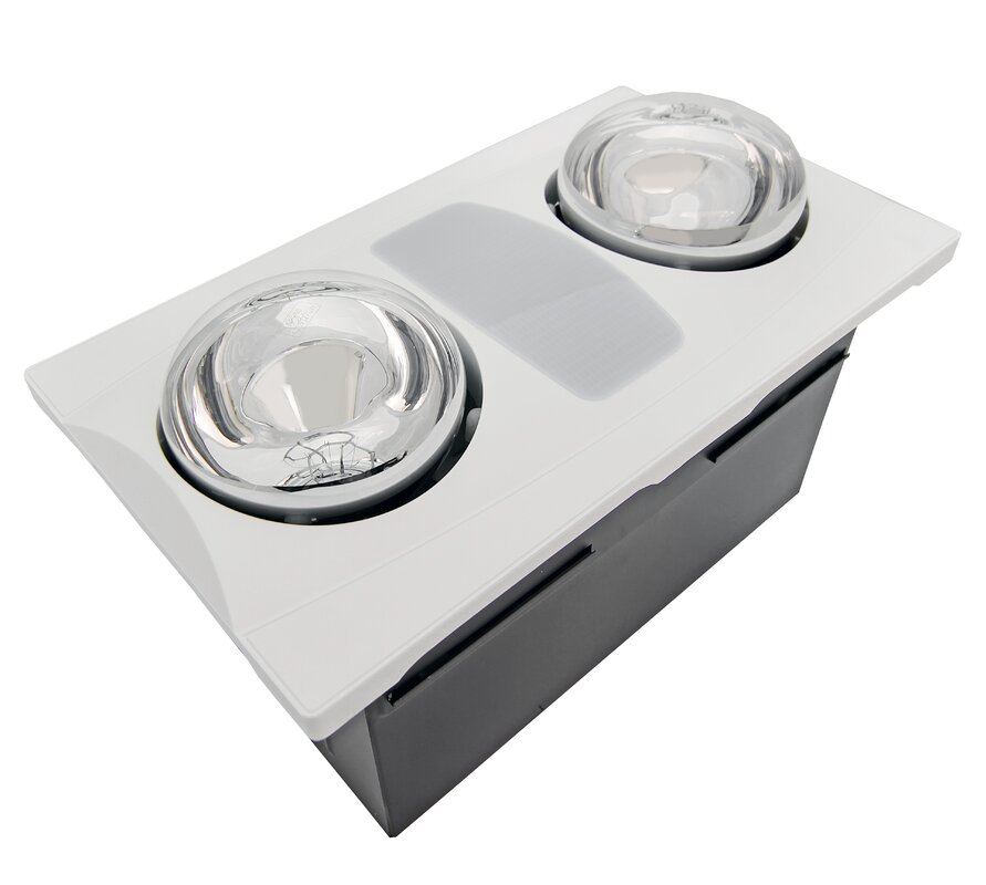 bathroom vent fan with light. 80 CFM Bathroom Fan with Heater and Light Fans You ll Love  Wayfair