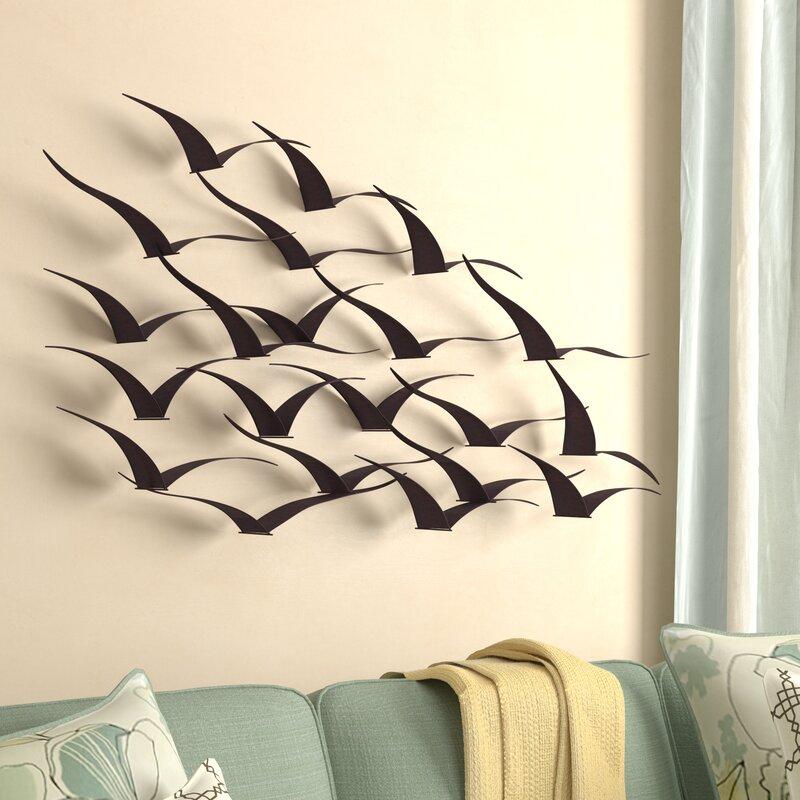Beachcrest Home Birds Wall D 233 Cor Amp Reviews Wayfair Ca