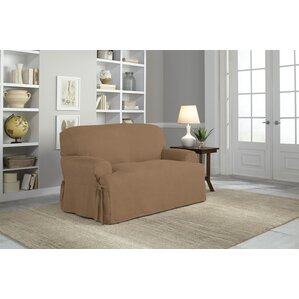 T-Cushion Loveseat Slipcover by Serta