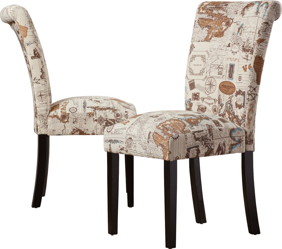 Dining Room Upholstered Chairs: Alcott Hill Proctorville Upholstered Dining Chair
