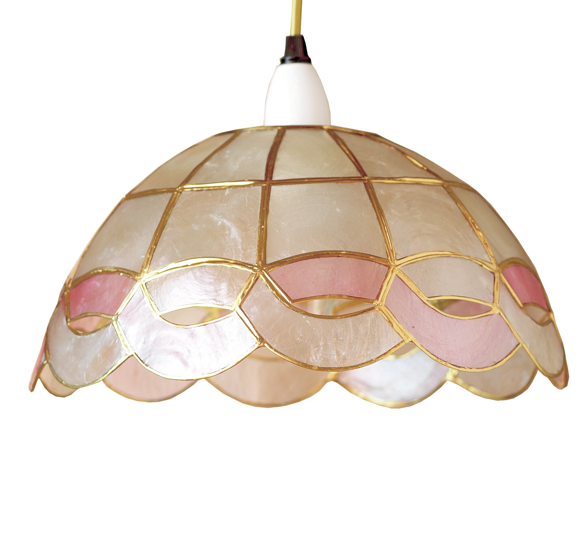 capiz shell lighting fixtures. Loxton Lighting 28cm Sputnik Capiz Shell Bowl Pendant Shade \u0026 Reviews | Wayfair.co.uk Fixtures