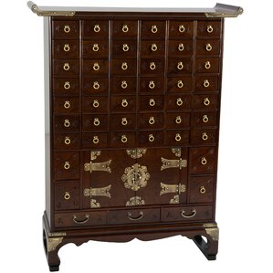 Perfect Korean 49 Drawer Apothecary Accent Chest