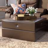Phenomenal Fulham Bonded Leather Ottoman Wayfair Gmtry Best Dining Table And Chair Ideas Images Gmtryco