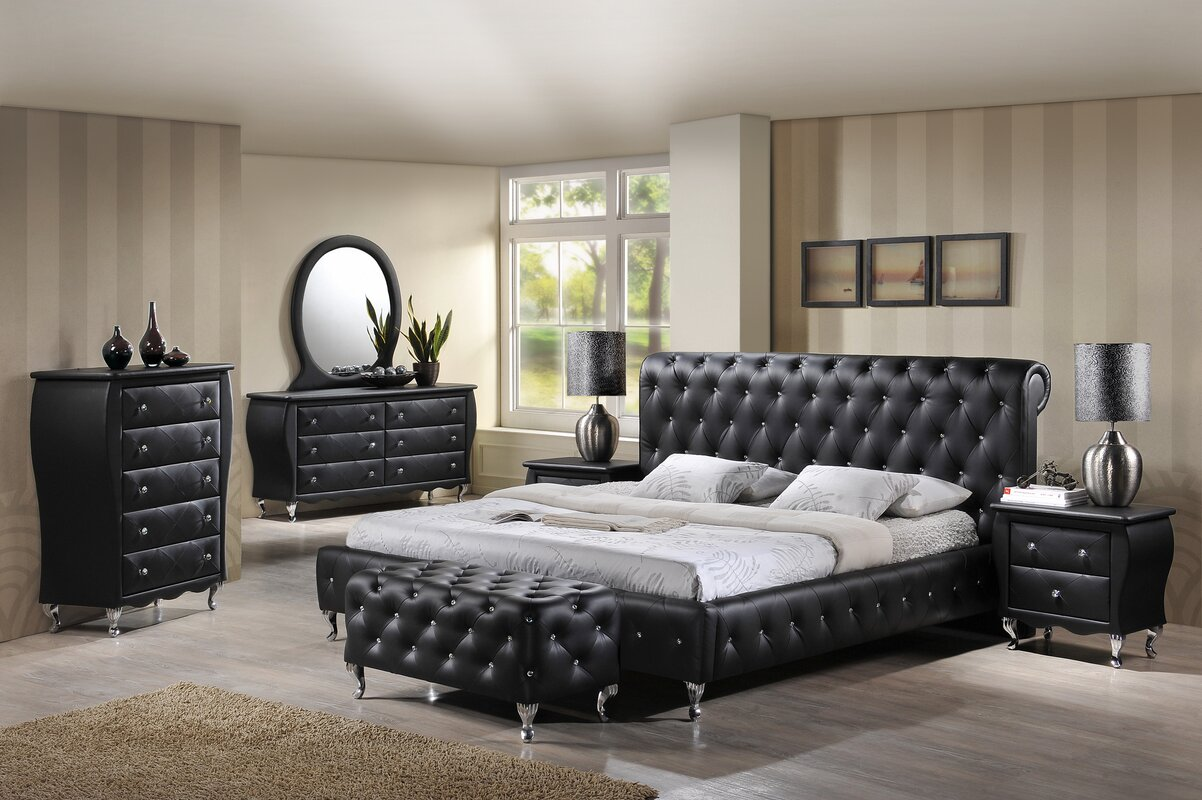 Bedroom Sets Henderson Nv willa arlo interiors ridgeway platform customizable bedroom set