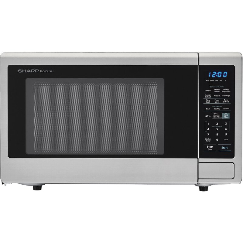 Sharp Carousel 23 Quot 1 8 Cu Ft Countertop Microwave