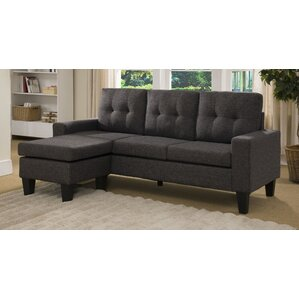Small Sectional small gray sectional | wayfair