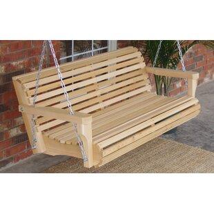 Himes Contoured Clic Cedar Porch Swing