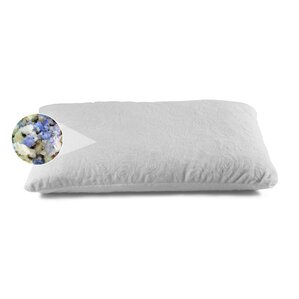 Shredded Combo Latex and Gel Memory Foam Pillow by Alwyn Home