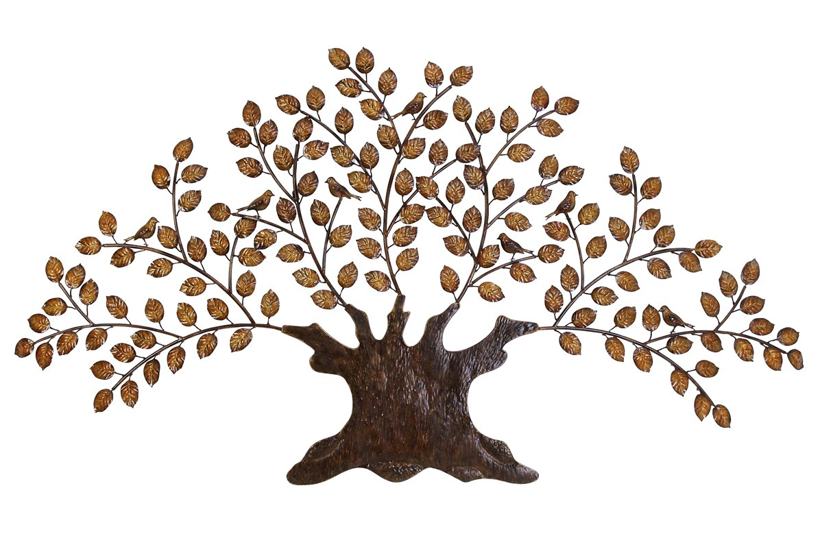 Large Leaf Wall Decor New Ec World Imports Urban Designs Tree Of Eternity Large Wall Décor Review