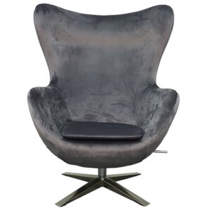 Max Fabric Swivel Rocker Lounge Chair by New Pacific Direct