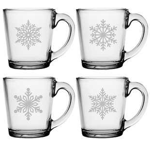 Paper Snowflakes Coffee Mug  sc 1 st  Wayfair & Snowflake Dishes | Wayfair