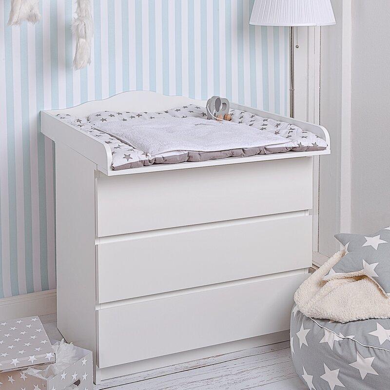 wickeltischaufsatz wickeltisch malm kommode 084318. Black Bedroom Furniture Sets. Home Design Ideas