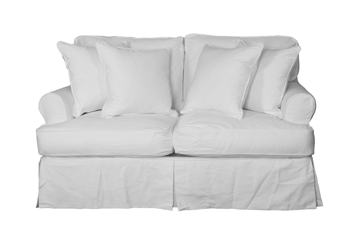 C Gables T Cushion Loveseat Slipcover