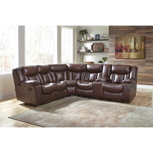 Atakent Reclining Sectional by Loon Peak