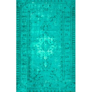 Buy Davet Turquoise Area Rug!