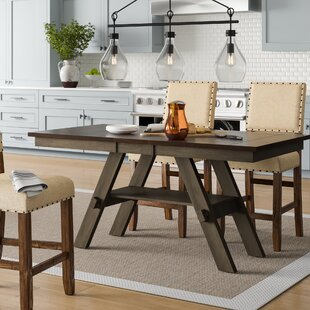 Colberta Center Island Extendable Dining Table