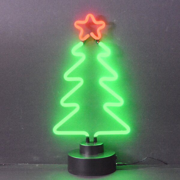 neonetics business signs christmas tree neon sign reviews wayfair