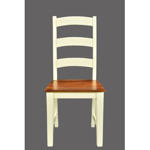 Lesley Solid Wood Dining Chair (Set of 2)