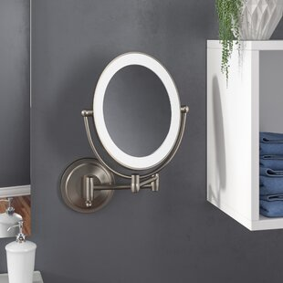 . Magnifying Mirror With Light You ll Love in 2019   Wayfair