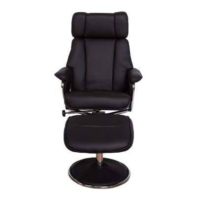ebern designs haverty high back manual swivel recliner with ottoman
