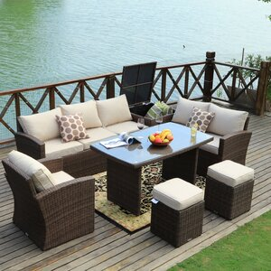Benedetti 7 Piece Sofa Set wit...