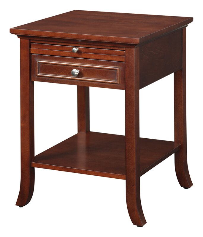 American Heritage End Table With Storage