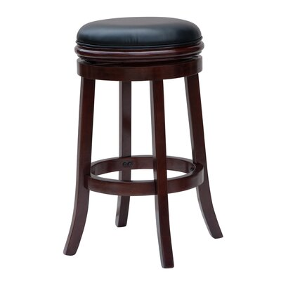 Farmhouse Amp Rustic Backless Bar Stools Birch Lane